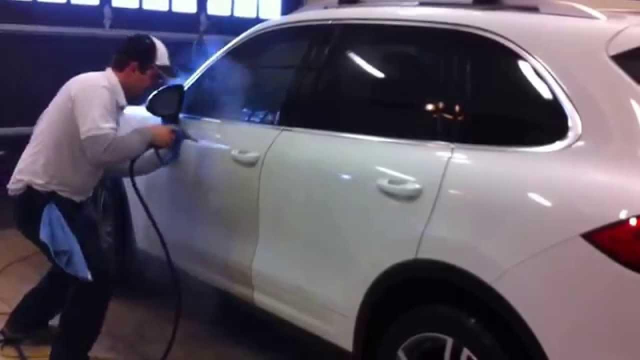 lavage de voiture a la vapeur avec vapro inc youtube
