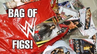 LARGEST BAG OF NEW WWE FIGURES