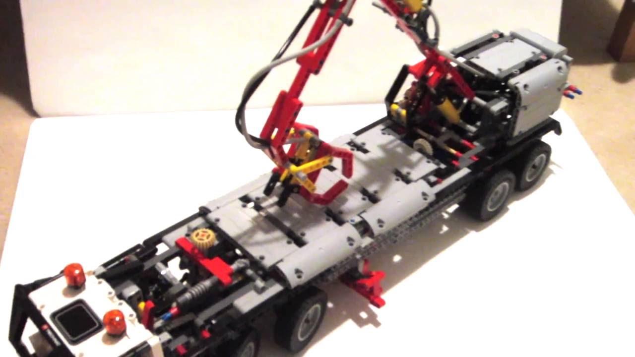 lego 42043 c model mobile crane mk3 youtube. Black Bedroom Furniture Sets. Home Design Ideas