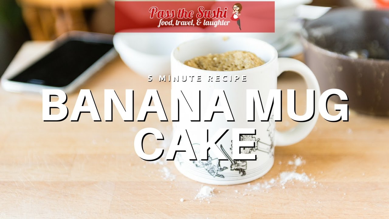 Banana Bread Mug Cake - YouTube