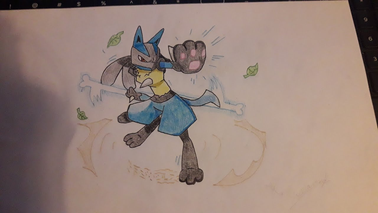 How To Draw Lucario