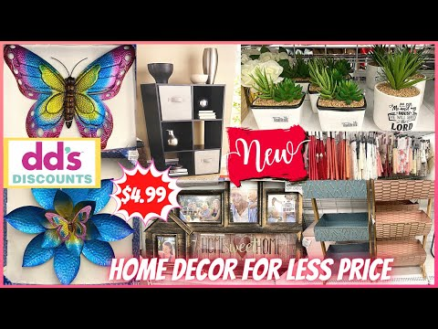 ‼️NEW FINDS‼️ dd's DISCOUNTS Home Decor For Less ❤️ |  Price As Low As $4.99 | Virtual Shopping 🛍