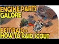 BEST RAID YET, ENGINE PARTS STOCKPILE! - How to Base Scout - Last Day On Earth Survival 1.7.1 Update