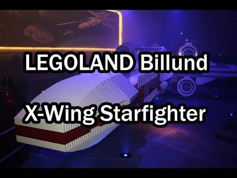 LEGOLAND Billund: LEGO Star Wars X-Wing Starfighter presentation 2015