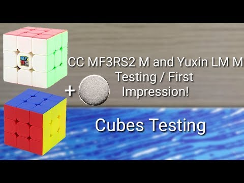 48ab9576f0 CubingClassroom MF3RS2 M and Yuxin Little Magic M Testing   First  Impression!
