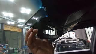 렉스턴 스포츠 차량의 후진시 자동비상등 후깜모듈과 신형…