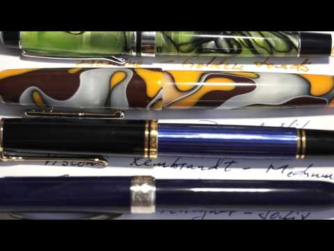 American vs. European fountain pens, Writing & Ink drying issues Part II