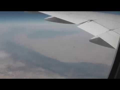 Cairo (Egypt) from Airplane  (Boeing 777 Emirates Dubai to Madrid)