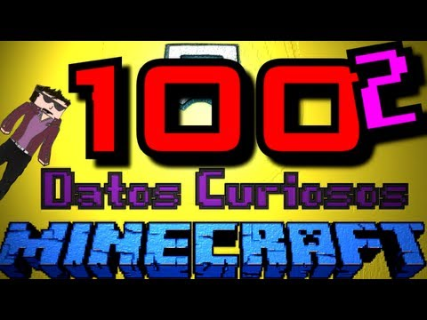 100 Datos Curiosos #2 De MINECRAFT