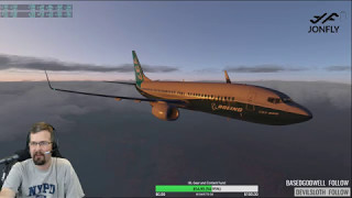 Video X-plane 11 737 Zibo Mod Part 2 of 2 Shared Cockpit