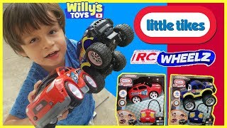 Little Tikes RC WHEELZ First Racers Remote Control Car and 4x4 Truck TOY REVIEW - Willy