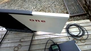 Testing one of my satellite phones