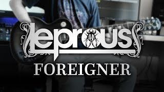 Leprous - Foreigner (Guitar Cover with Play Along Tabs)