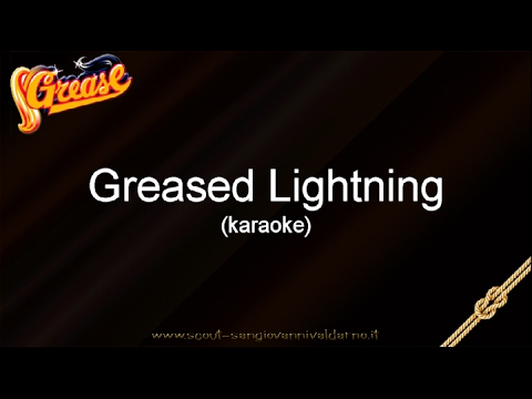 Musical Grease Italiano - Greased lightnin'  (karaoke)
