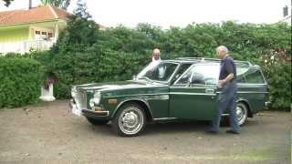 Volvo 165-ägare återförenas med sin bil