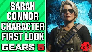 GEARS 5 - First Look at Sarah Connor from Terminator Dark Fate in GEARS 5 (GEARS 5 Terminator Pack)
