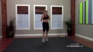 Kickbox workout with music with Kaycee - 60 minutes