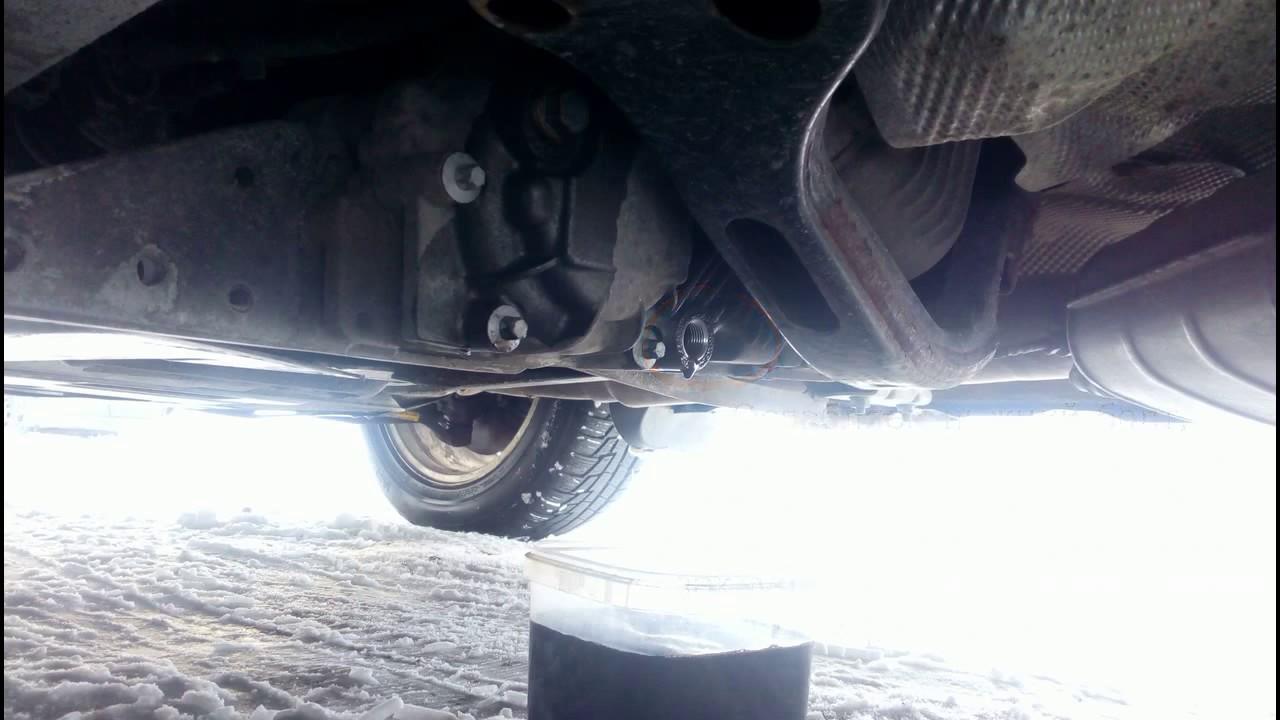 Замена масла в раздаточной коробке BMW ATC 400 Oil change ...