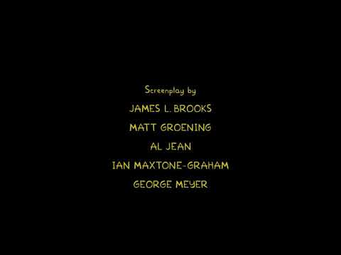 The Simpsons Movie End Credits Part 2 Sequel Youtube