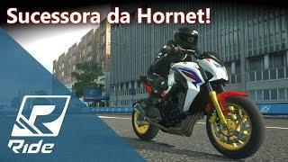 A sucessora da Hornet! Honda CB 650F - Tunando e Turnê Mundial | RIDE [PT-BR]