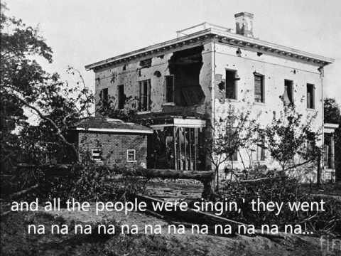 Joan Baez- The Night They Drove Old Dixie Down (w/ lyrics)