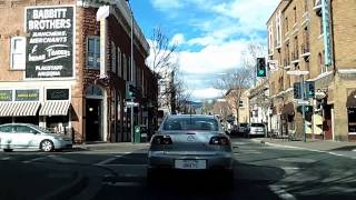 Driving Around Flagstaff, Arizona Time Lapse Dashcam