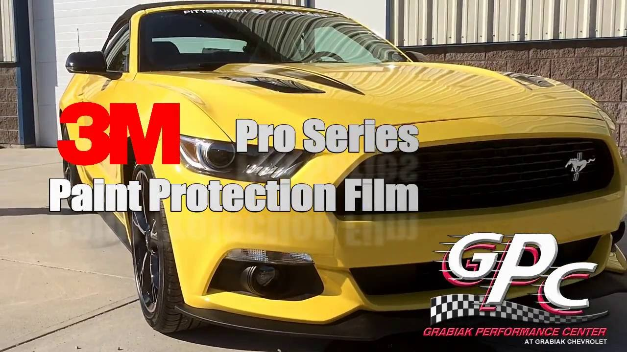 3M Scotchgard Pro Series Paint Protection Film Fits 15-18 Chevrolet Tahoe