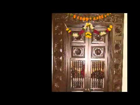 Pooja room door carving designs youtube - Pooja room door designs in kerala ...