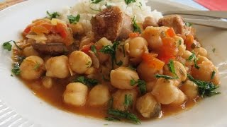 Chickpeas And Sausage - The Frugal Chef