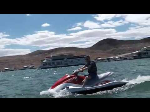 Jet skiing and Speed boating on Lake Mead Nevada