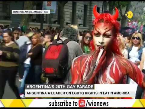 Argentina's 26th Gay Pride parade