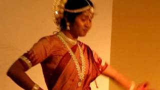Odissi Dance at Durga temple,  Virginia  by Pranita Sarangi,