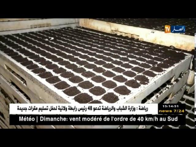 فلاحة  مشاتل حسناوي   نموذج فلاحي ناجح   SODEA