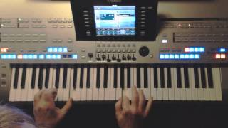 Heading For A Fall - Vaya Con Dios, Instrumental-Cover auf Yamaha Tyros 4