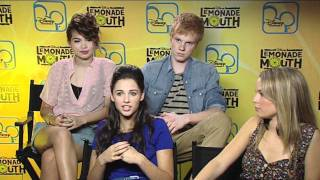First News interviews the cast of Lemonade Mouth