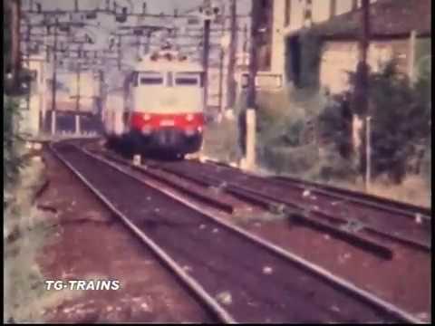 I TRENI DELLA MILANO-VENEZIA IERI..... 1/3 TG-TRAINS BINARI D'ITALIA