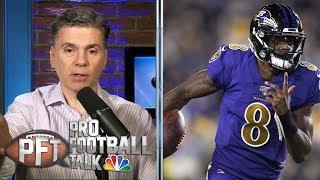 Is Lamar Jackson better than Michael Vick? | Pro Football Talk | NBC Sports
