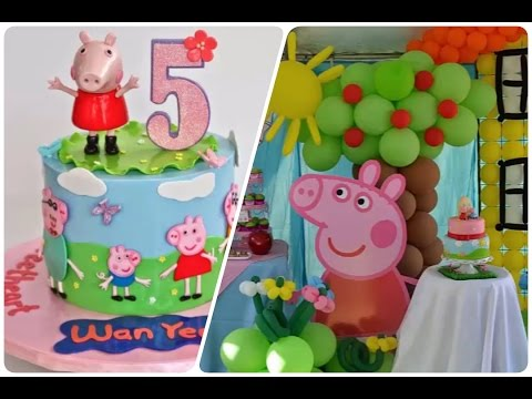 Fiesta infantil de peppa la cerdita ideas para decorar - Ideas para decorar fiestas ...