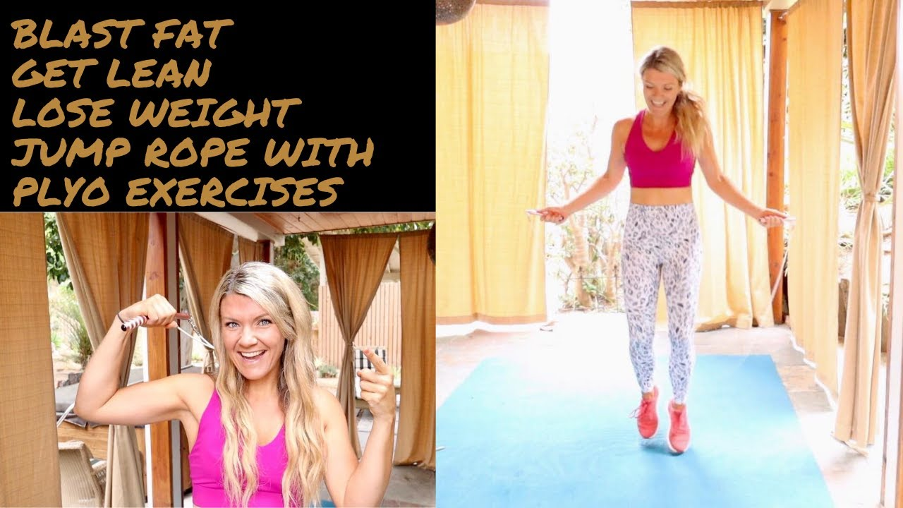 Jump rope workout to blast FAT, get FIT and lose WEIGHT