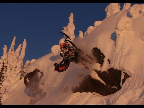 Technical Backcountry Sledding