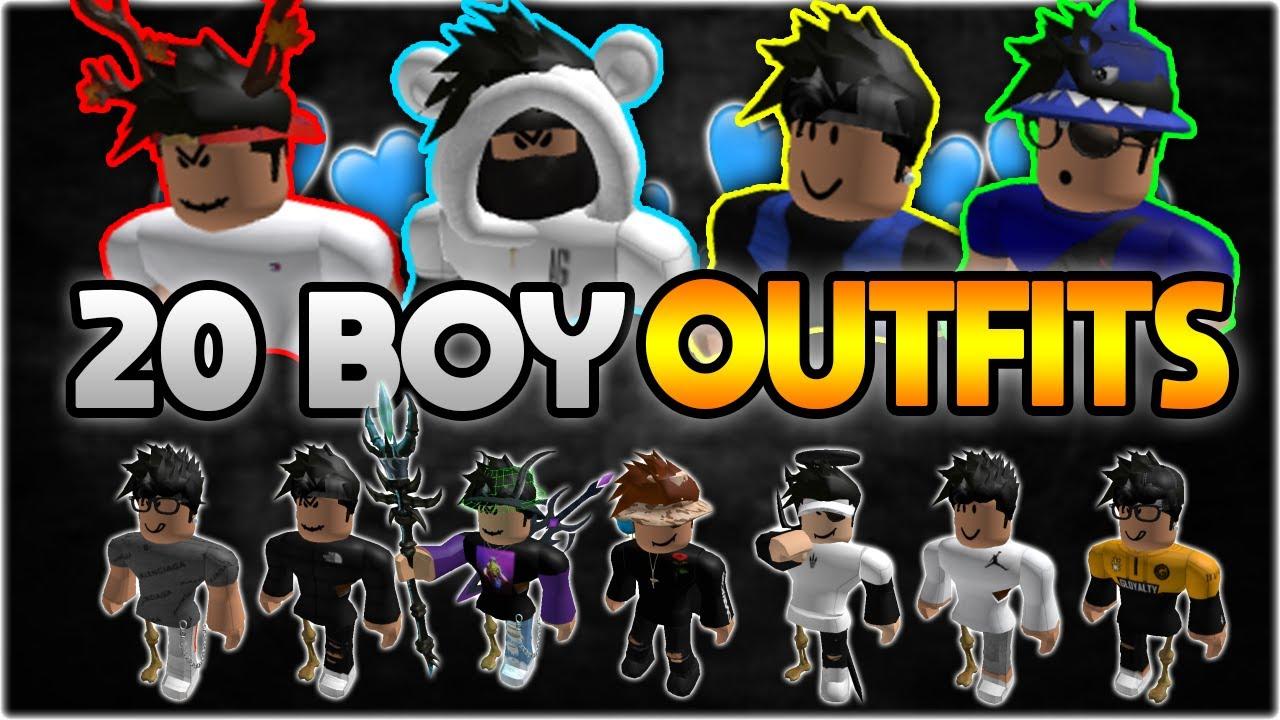 Top 20 Best Roblox Boy Outfits Of 2020 Fan Outfits Youtube