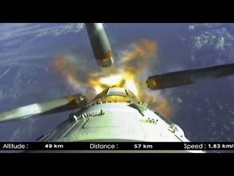 Soyuz Launch [Onboard