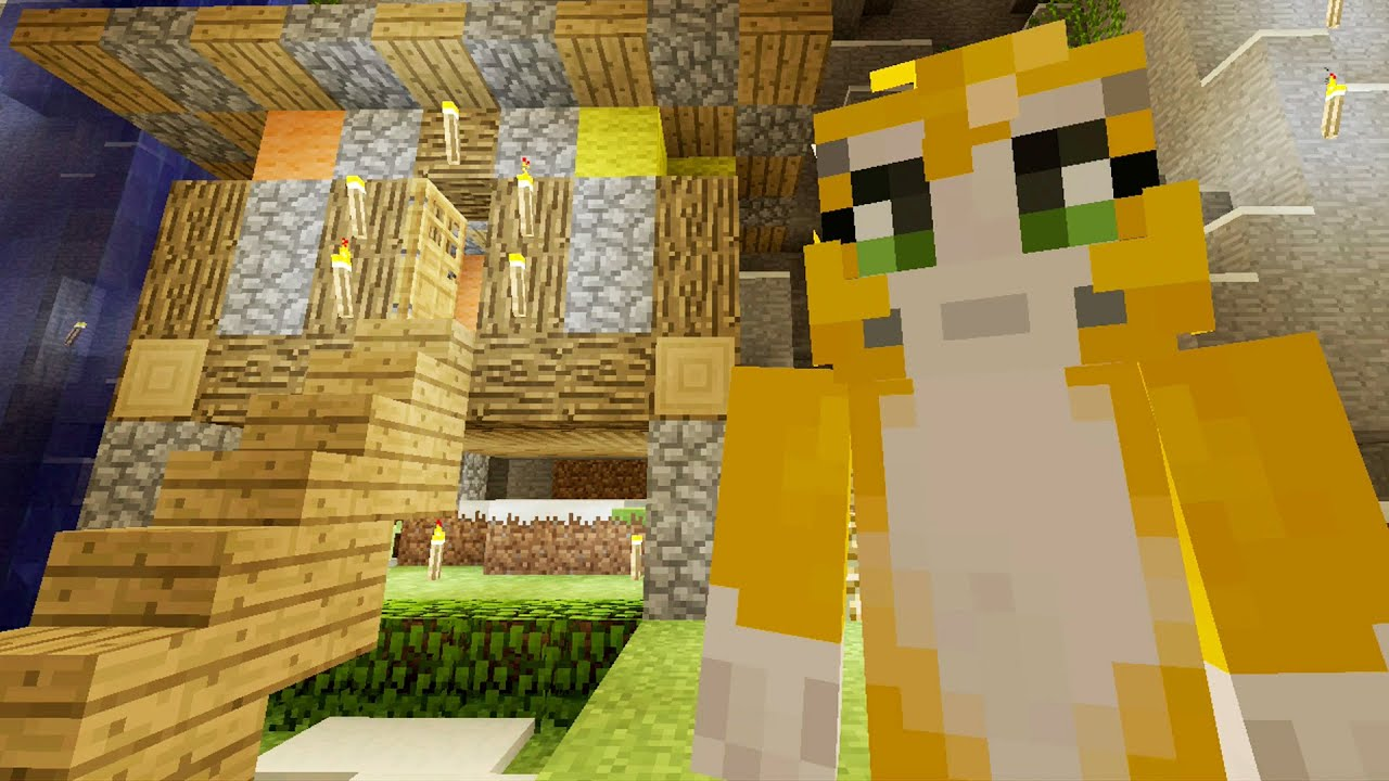 Minecraft Xbox - Cave Den - Home Away From Home (33) - YouTube