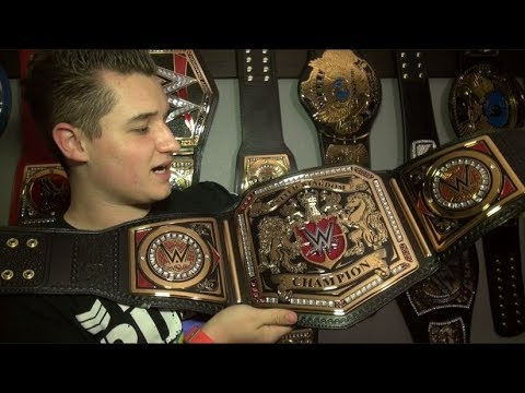 WWE UNITED KINGDOM CHAMPIONSHIP TITLE BELT UNBOXING!!!
