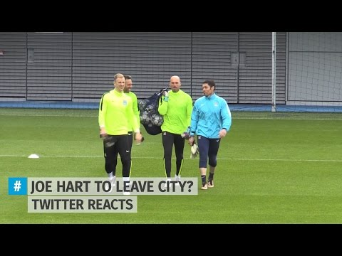Joe Hart To Leave Man City? Twitter Reacts