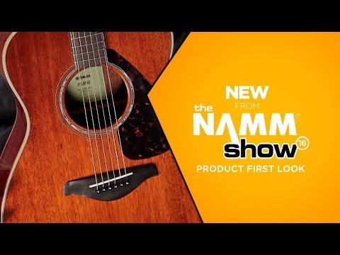 NAMM 2016 - Yamaha FG 800 Folk Acoustic Guitar