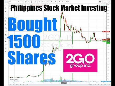 How To Invest In Philippines Stock Market: I Bought 1500 Share On 2GO Group