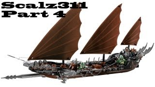 Lego Lord Of The Rings Pirate Ship Ambush Build - Part 4