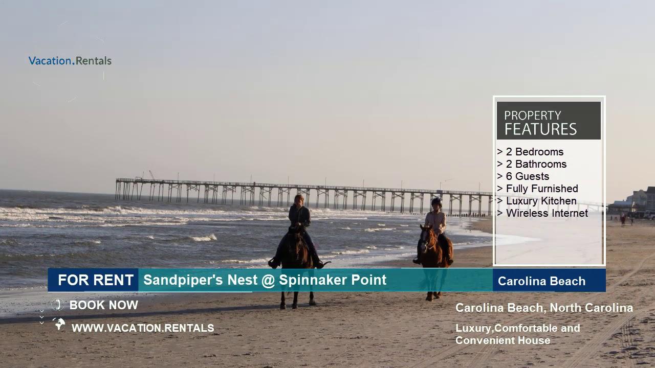 North Carolina | Vacation Rentals | Sandpiper's Nest - 6 Guests | Carolina  Beach