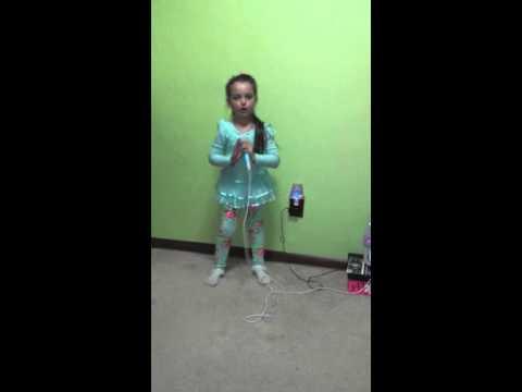 Glitter and Shimmer Charlotte Original Song Disney Frozen Karaoke Machine Mic Drop